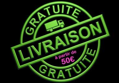 LIVRAISON GRATUITE A PARTIR DE 50€